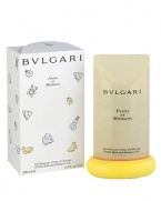 An exclusive fragrance entirely dedicated to children and their mothers. Bvlgari chose the most gentle type of tea, Chamomile, as the main ingredient, enriched by an original talc note.