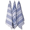 Now Designs Jumbo Pure Kitchen Towel Set of 3, Royal