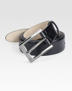 Sleek, sophisticated design beautifully crafted in genuine Italian leather.LeatherAbout 1¼ wideImported