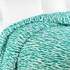 With a bright white nature-inspired print on a golf green field, this DIANE von FURSTENBERG full/queen duvet cover brings a sunny breath of fresh air to your bedroom.