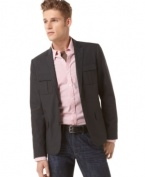 Whether you dress it up or down, this Kenneth Cole Reaction blazer will be a staple in your wardrobe. (Clearance)