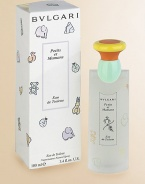 The exclusive fragrance entirely dedicated to children and their mothers is now also available in an eau de toilette. BVLGARI chose the most gentle type of tea, Chamomile, as the main ingredient enriched by an original talc note. 3.4 oz.