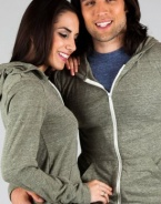 Rocky Eco-Fleece Zip Hoodie(ECO MILITARY,MEDIUM)