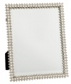 Olivia Riegel Crystal and Pearl Standing Mirror