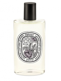 A new fragrance that pays tribute to the queen of all flowers, the rose. The sharp and slightly tangy freshness of bergamot and blackcurrant, complements the sensation of the freshly cut petals of the Centifolia and Damask Roses. To make the scent more sensual the base notes are infused with white musk and cedar and enhanced with a touch of honey. 3.4 oz.