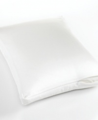 Combining all the luxury of the Crown Jewel bedding with piece-of-mind protection, the ProGuard®-treated pillow protector from Sealy® repels stains from its 100% pure Egyptian cotton construction, lending ultimate softness and durability to the surface of any pillow.