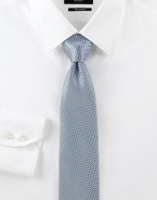 A handsome classic for every stylish gentleman in woven Italian silk.SilkDry cleanMade in Italy
