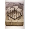 NMR 24195 Folded Chess Set Decorative Poster