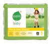 Seventh Generation Free and Clear Baby Diapers, Stage 5, 26 Count (Pack of 4)
