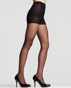 Donna Karan's ultra sheer control top hosiery elongates legs and creates a smooth, flawless silhouette. #0B108