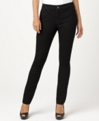 Whatever you call them – denim leggings, pull-on jeans or jeggings – this petite pair from Not Your Daughter's Jeans fits a woman's body perfectly! The black wash gives them an extra-slimming effect.