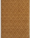 Karastan Woven Impressions Diamond Ikat - Curry 5'7 X 7'11