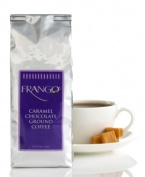 Frango's classic chocolate caramel candies are now in sippable form. Savor this decadent blend that is packed in a one-way valve bag, offering the freshest coffee straight from the roasters. Perfect for placing on your dessert menu at any occasion!