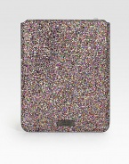 From the 24:7 Collection. Slip your iPad® into this stylish cover crafted from glitter-coated cotton.Accommodates all iPad® modelsFully lined8¼W X 10¼H X 1/4DMade in ItalyPlease note: iPad® not included.