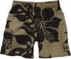 Quiksilver Swim Shorts Army Brown, 3T