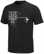 Get geared up for game day in this New York Mets graphic t-shirt from Majestic.