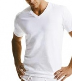 Calvin Klein Classic 2 Pack V-Neck T-Shirt, Tall