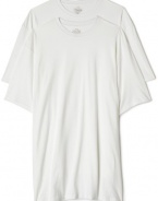 Calvin Klein Men's Big and Tall Two Pack Crew Tee  #U3284