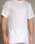 Dockers Men's 3 Pack Big-Tall Crew T-Shirt