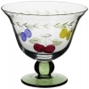 Villeroy & Boch French Garden Accessories 10-Ounce Footed Bowl, Set of 4 Glass