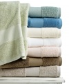 Ultra-fine long staple cotton offers a beautiful sheen in this Luxury washcloth from Martha Stewart Collection, the ultimate in comfort and style. Special construction allows for high absorbency. Choose from a range of classic hues.