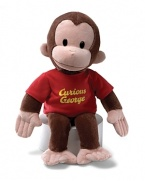 Delight your little one with their favorite curious cartoon character -- everybody's favorite monkey -- George!