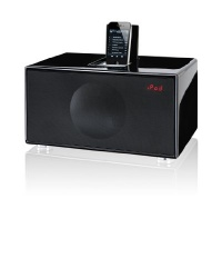 GenevaSound M All-in-One Stereo for iPod, iPhone, Radio, Line-in - Medium (Black)
