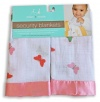 Aden by aden + anais 2 Pack Security Blankets, Sonia Pink Butterfly