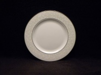 Lenox Opal Innocence Platinum Banded Bone China Salad Plate