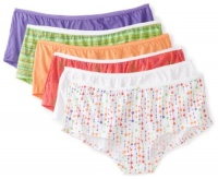 Fruit of the Loom Women's 6 Pack Boyshort