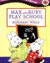 Max and Ruby Play School: A Picture Reader with 24 Flash Cards (All Aboard Reading)
