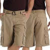 Lee Men's Big & Tall Belted Wyoming Cargo Short