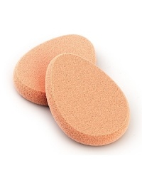Laura Mercier 4-pack sponges are used to give extra control for applying foundation to all areas of the face. The sponge material holds product impeccably & applies foundation smoothly & evenly. Laura Mercier Sponges maintain its form after repeated washings.
