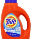 Tide ColdWater HE Fresh Scent Detergent, 50 Ounce (Pack of 2)