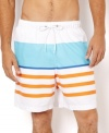 Bright colors make these Nautica shorts pop with cool sunny style.