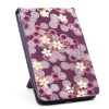JAVOedge Cherry Blossom Flip Case for the Barnes & Noble Nook Color / Nook Tablet (Twilight Purple) - Latest Generation
