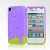 Melt Case for iPhone 4/4S - Purple/Green