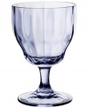 Stemware for every day, any occasion, the Farmhouse Touch claret features a classic Villeroy & Boch design with a fluted bowl, elegant stem and tapered silhouette, all in cool blue crystal.