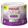 MAXELL  50-Pack DVD+R Recordable DVD 16X