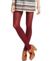 A must-have layering piece, these Free People tights inject your outfit with a dose of color while keeping you warm!