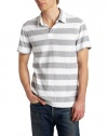 Calvin Klein Jeans Men's Progressive Stripe Polo