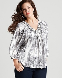 T Bags Plus Size Embellished Marble Top