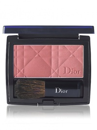 Blush like never before and take every cheek to chic. Every woman has two reasons to blush, one shimmering and sheer, one velvety and matte. Dior's new luxe compacts give you two cheekcolors to wear individually or together.