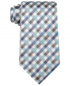 Square off. This gingham tie from Geoffrey Beene is the pattern play you've been waiting for.
