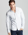 Diesel Stuart Striped Sport Shirt - Slim Fit, Barrel Cuffs