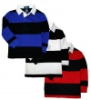 Ralph Lauren Toddler Boy's Long Sleeve Striped Rugby