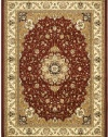 Safavieh Lyndhurst Collection LNH329C Red and Ivory Area Rug, 4-Feet by 6-Feet