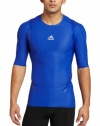 adidas Men's Techfit Powerweb Short-Sleeve Tee