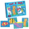 Lauri Toys Peel and Stick by Number Under the Sea