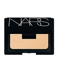 A lightweight formula providing flexible coverage and SPF 12 sun protection. Enclosed in a refillable compact, Powder Foundation prepares the complexion and covers imperfections without appearing visible on the skin. Incredibly versatile, it may be applied with a powder brush for a sheer and natural finish, or with the sponge applicator included for a polished and smooth finish. Unique to NARS Powder Foundation is the inclusion of active ingredients that offer dual protection against UVA and UVB rays. An SPF 12 offers protection against UVB rays, while the addition of PA++ indicates optimal protection against UVA rays that may lead to premature signs of aging. Dermatologist tested. SPF 12 and PA++ Lightweight, non-drying texture, velvety finish, effortless application Refillable compact